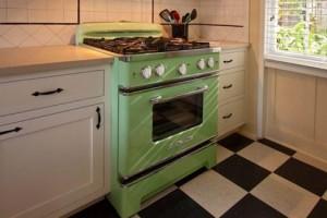 horno vintage retro rústico