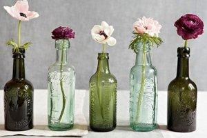 botellas vintage y retro